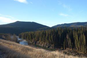 Red Deer River at Ya Ha Tinda