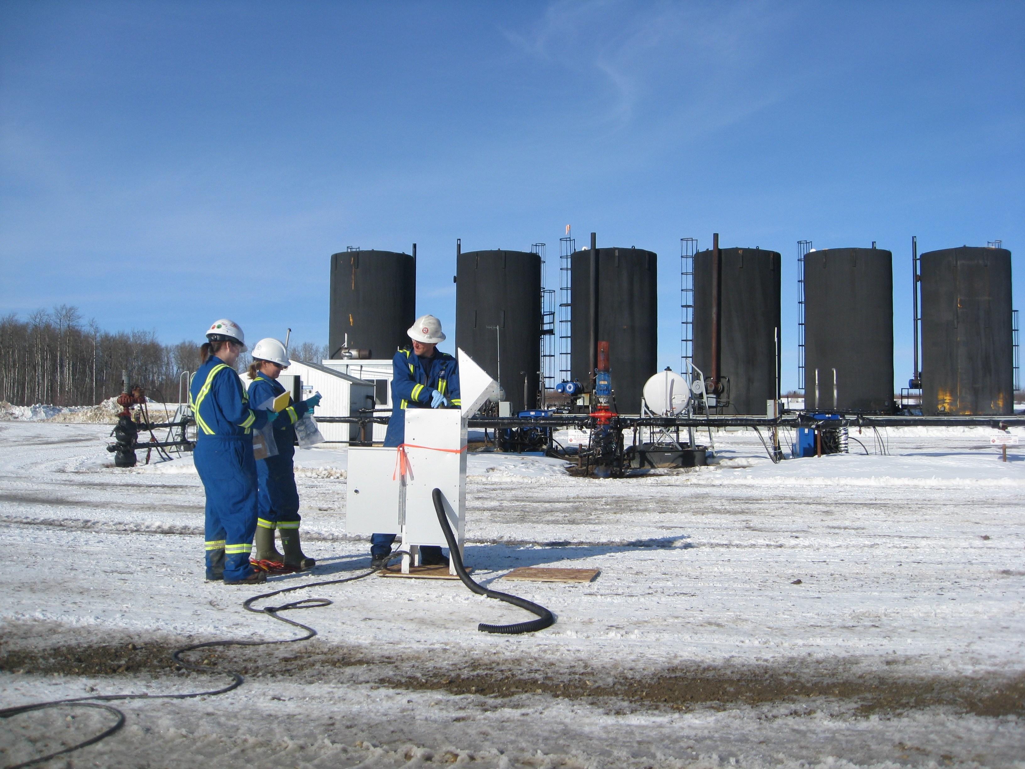PAH_air_sampling_CHOPS_oil_field